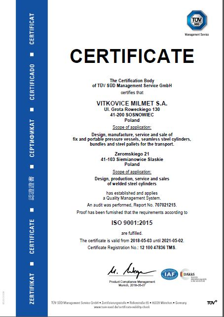 Audyt ISO 9001:2015