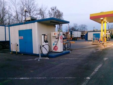 CNG refueling station for MZA Warsaw